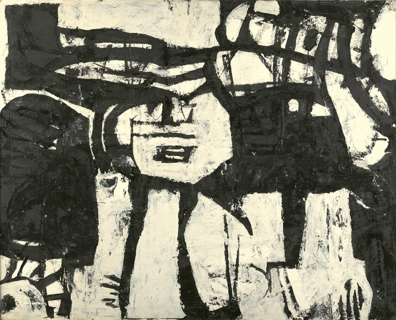 Charlotte Park (Estate),#25, 1951 Oil on canvas, 37 x 46 in. (94 x 116.8 cm)