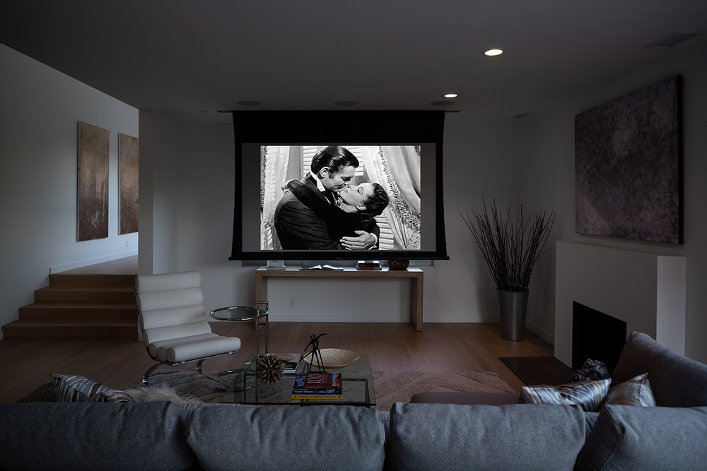 Living Room with Projector