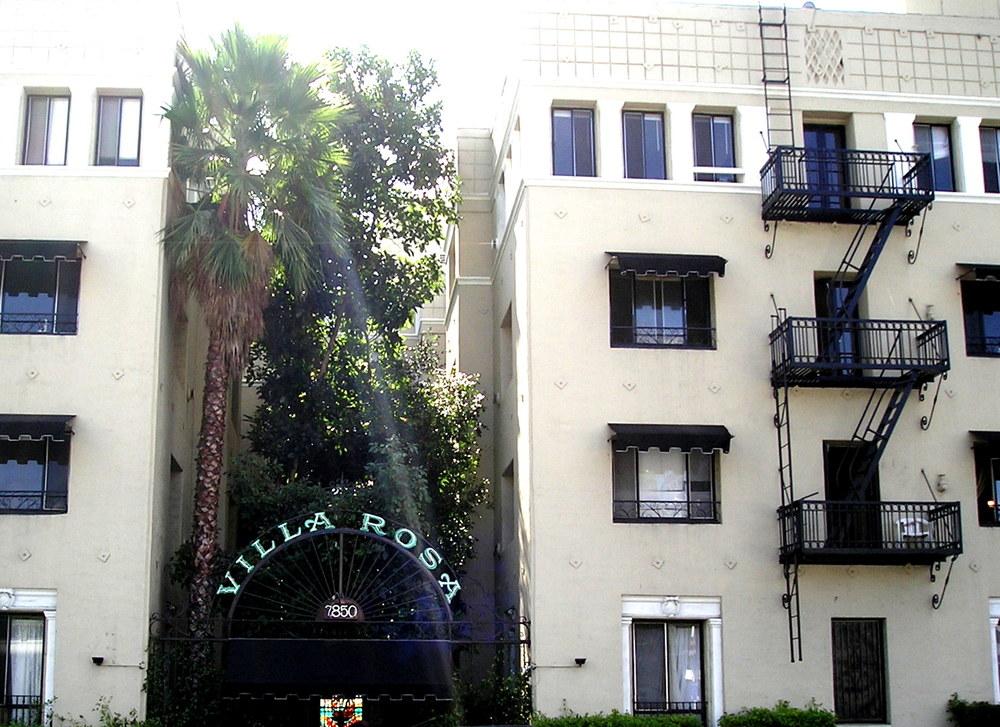 Villa Rosa Sunset Blvd Los Angeles, CA
