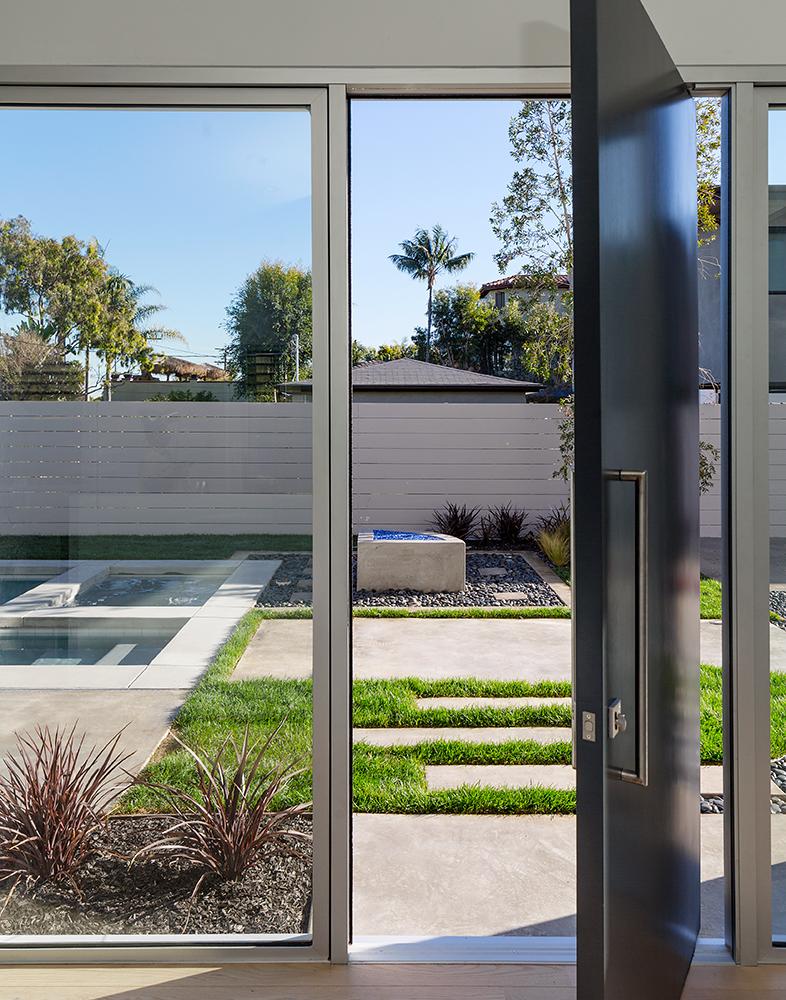 Door to the Garden Area