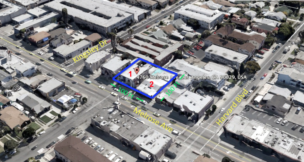 melrose office screenshot Mixed use developments los angeles