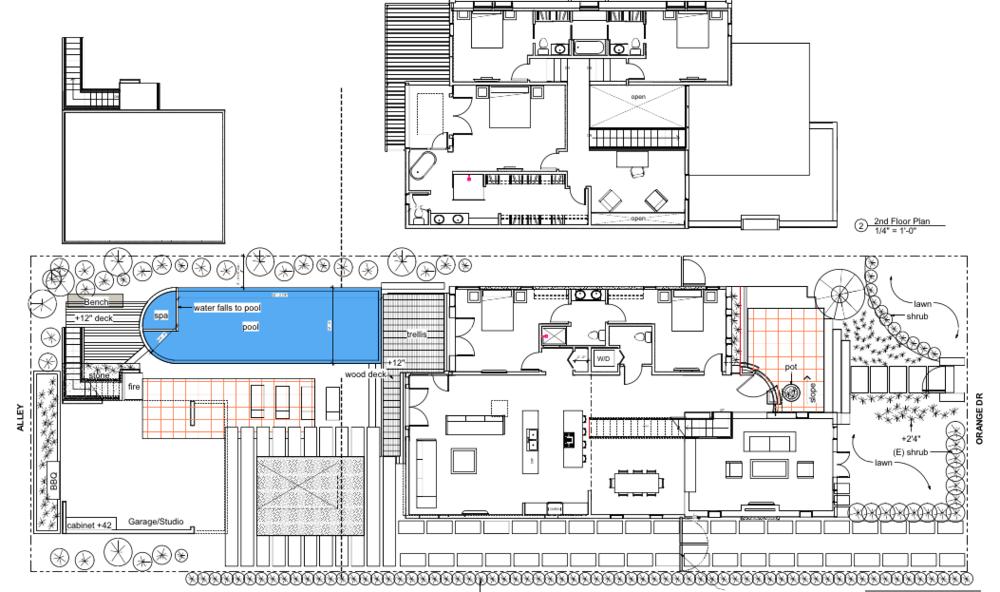 orange drive site plan