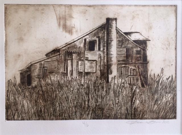 etching, 2011.