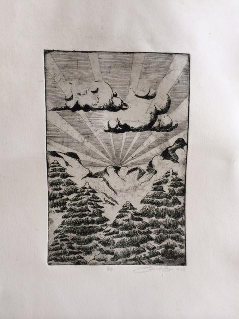 etching, 2011