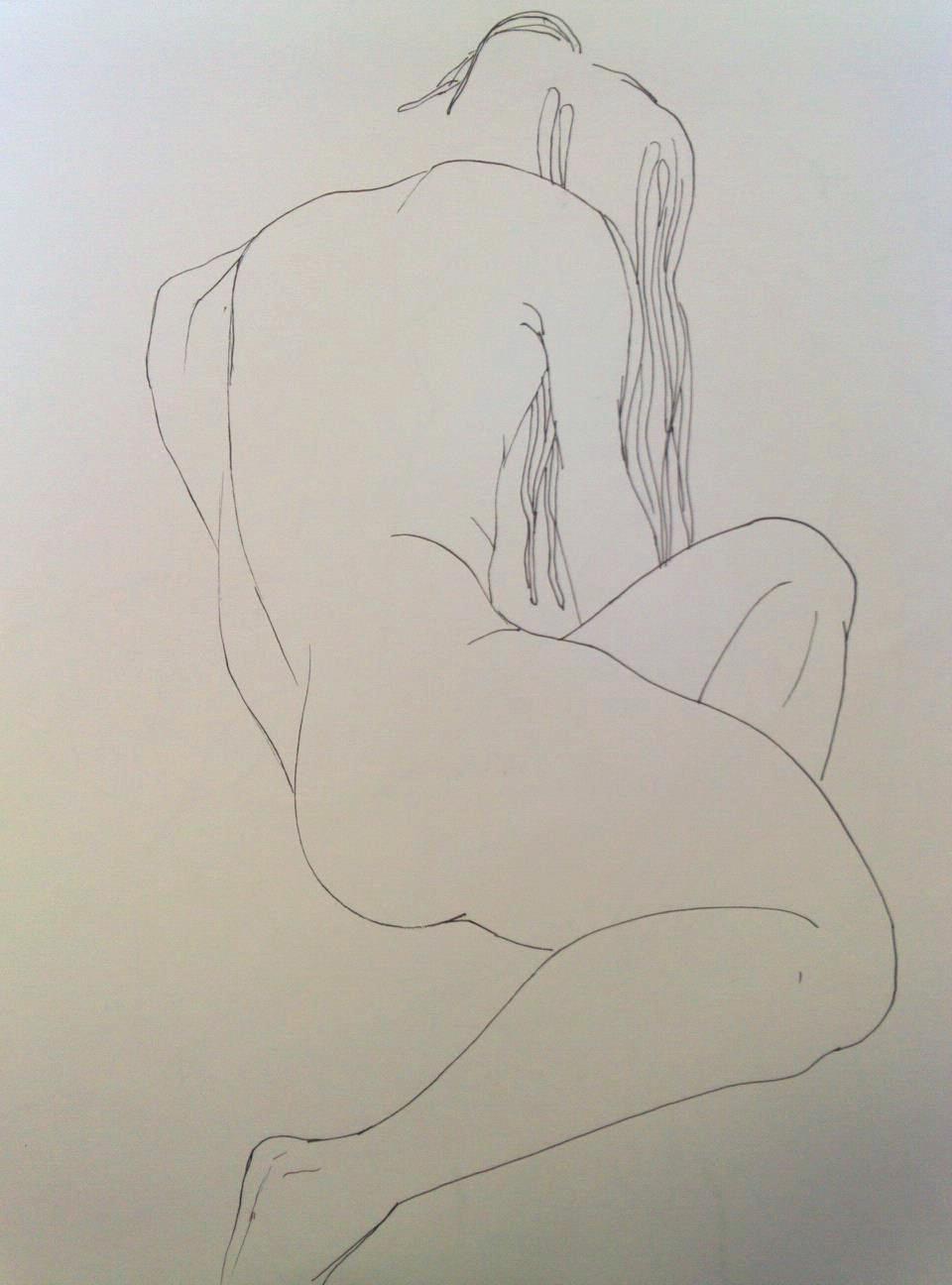 "graphite on paper, 11""x14"" 2012."