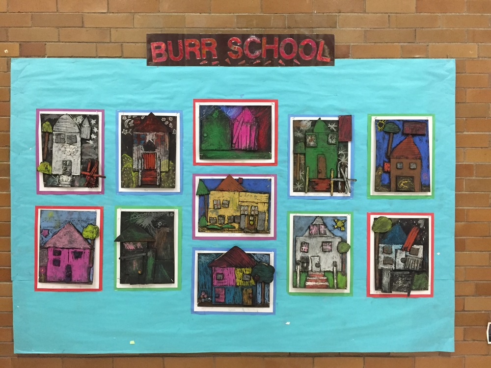 Display of Student Work at Newton School Administration Building