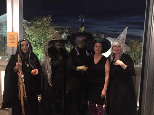 Met a group of Sorority House Mom witches at Top of the Hill!