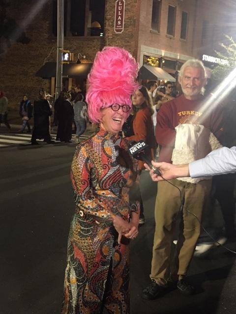 Being interviewed by Spectrum News!