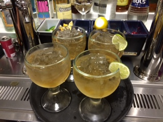Moscow Mules in Goblets...