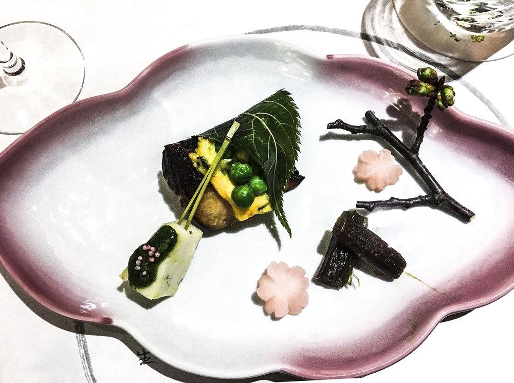 Kaiseki detail 3
