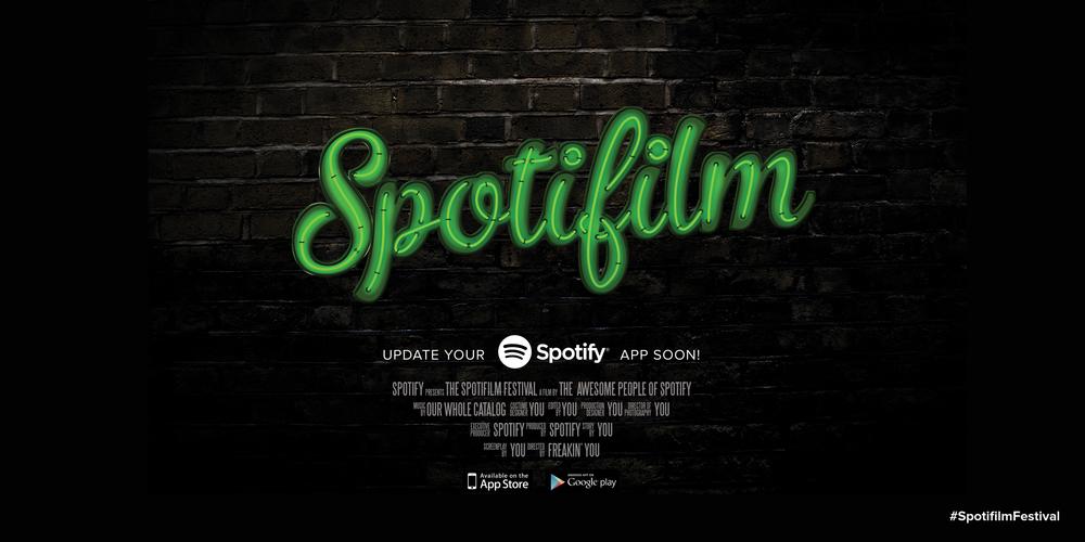 Spotifilm Festival - Movie Poster 2