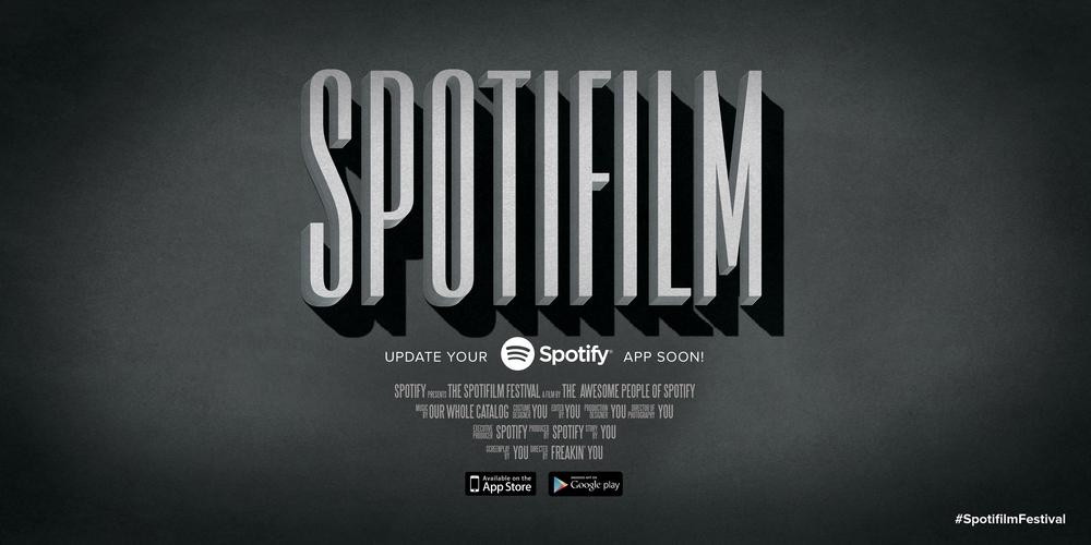 Spotifilm Festival - Movie Poster 1