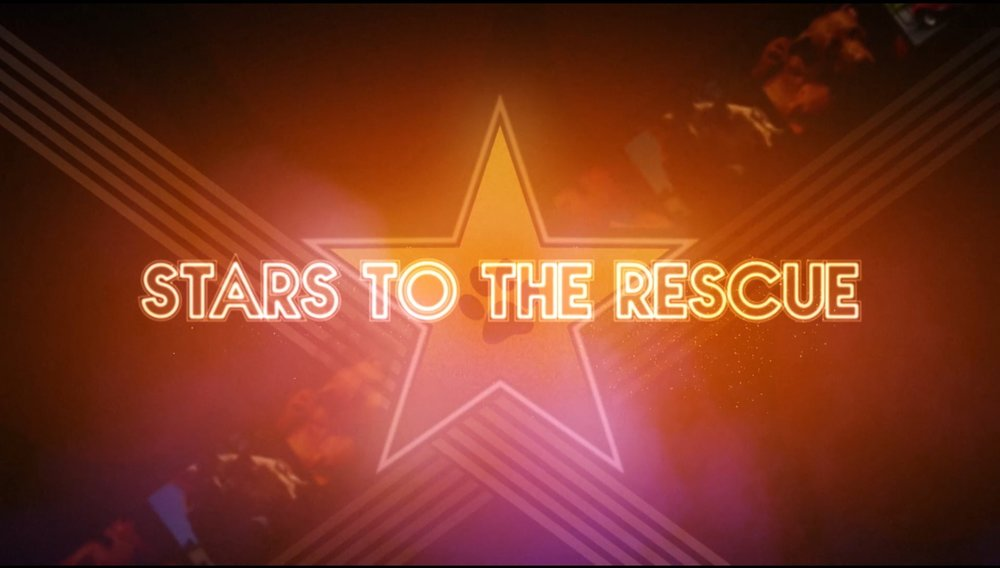 Stars To The Rescue takes you behind the scenes to learn the story of how nine celebrities not only adopted their pets, but rescued them from some very dire situations. Whether it's walking the red carpet or the streets of Brooklyn, riding in dog carriers or golf carts, or eating asparagus or at Gracie Mansion, the lives of these animals will never be the same since being saved by their celebs.