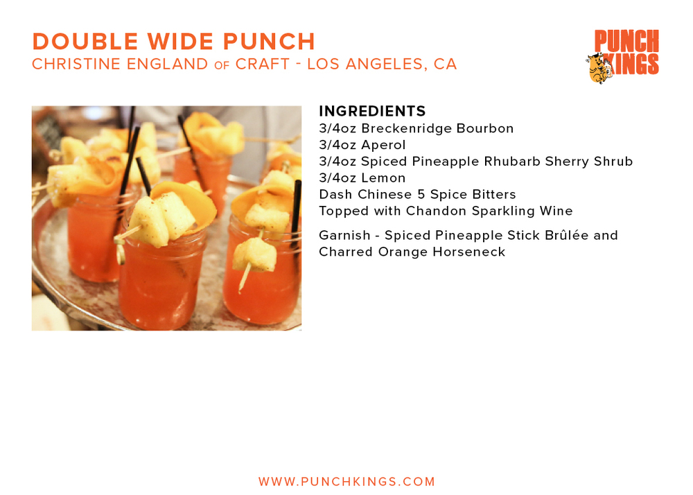 Double Wide Punch