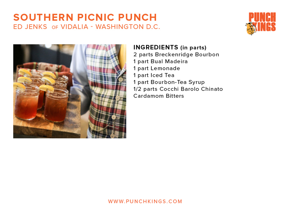 Southern Picnic Punch