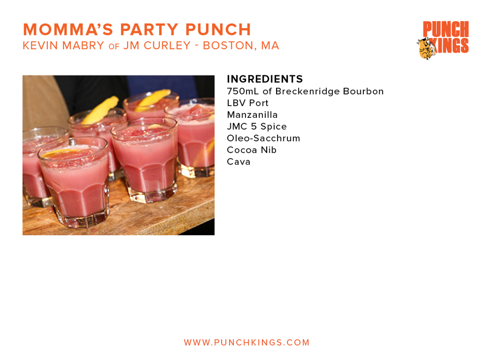 Momma's Party Punch