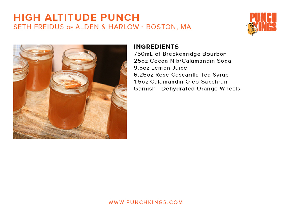 High Altitude Punch