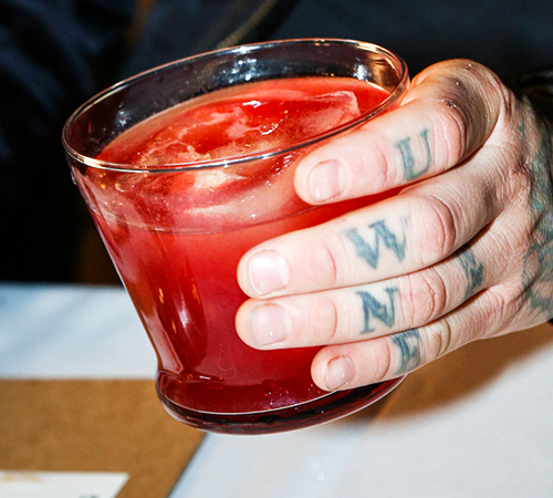 WINNING PUNCH RECIPE SEAN WOODS OF RIBELLE, BOSTON