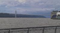 George Washington Bridge, connecting Manhattan, NY to Fort Lee, NJ