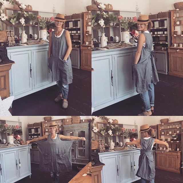 Gorgeous Italian linen clothing now in store. Dresses, tops and pinafores. One size fits all #newstyle #newstock #newseason #linen #linenclothing #madeinitaly #madeinflorence #easyliving #baysidemelbourne #baysidebusiness #notamodel