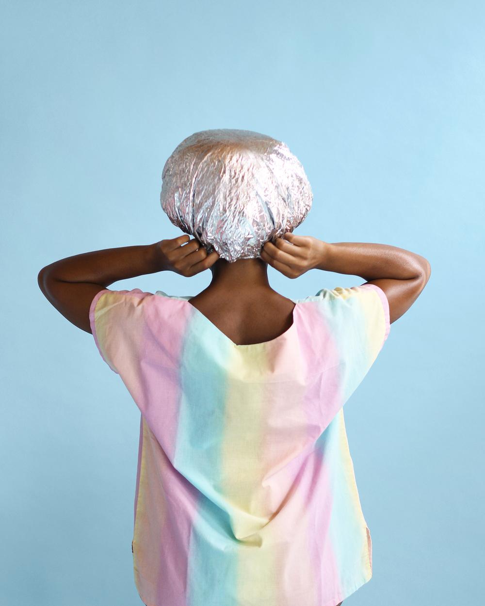 """Photo by Nakeya Brown,  """"Hair Stories Untold""""  series"""