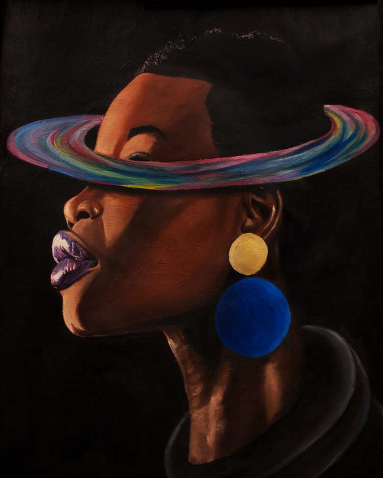 Painting by Yesterday Nite, Planet Her    series
