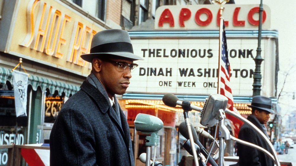 Denzel Washington in Spike Lee's Malcolm X