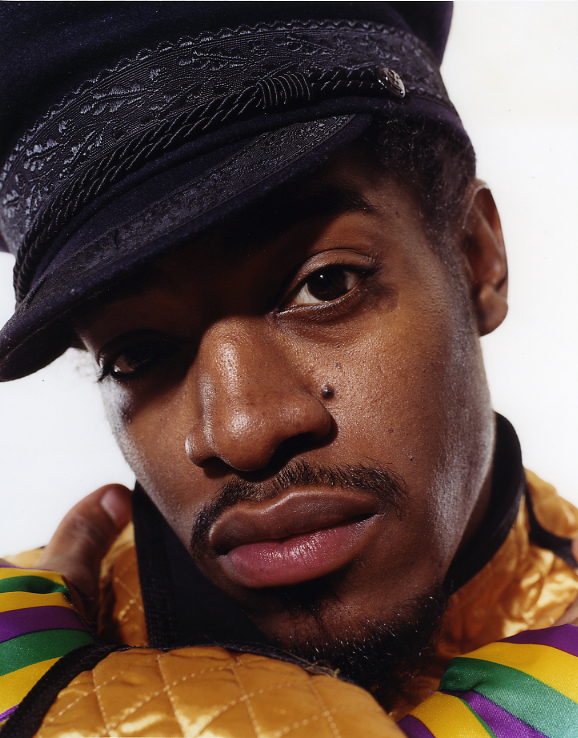 Photograph of Andre 3000 by Eric Johnson