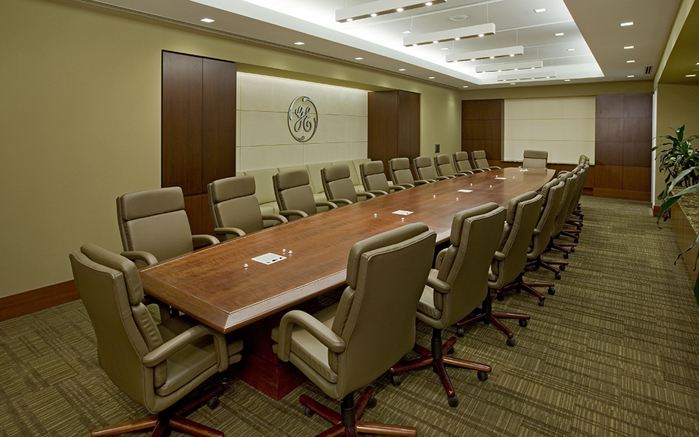 office paneling. receptions and conference rooms are candidates for upgraded wall panels that match other millwork furniture items when the designer specifies office paneling