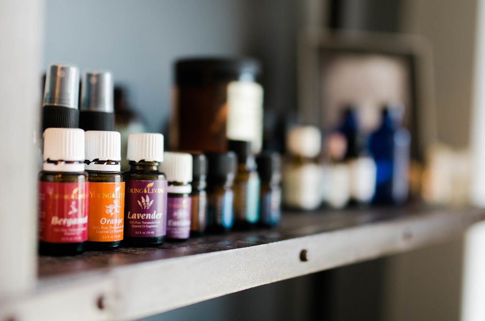 We only use Young Living Essential Oils due to their high and therapeutic quality.