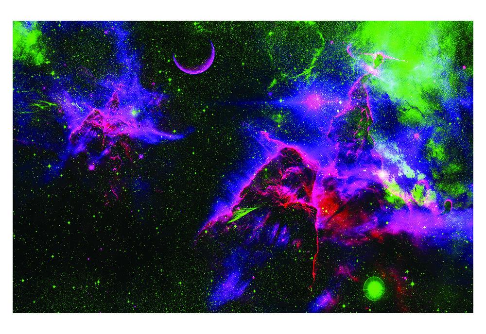Purple Pleiades