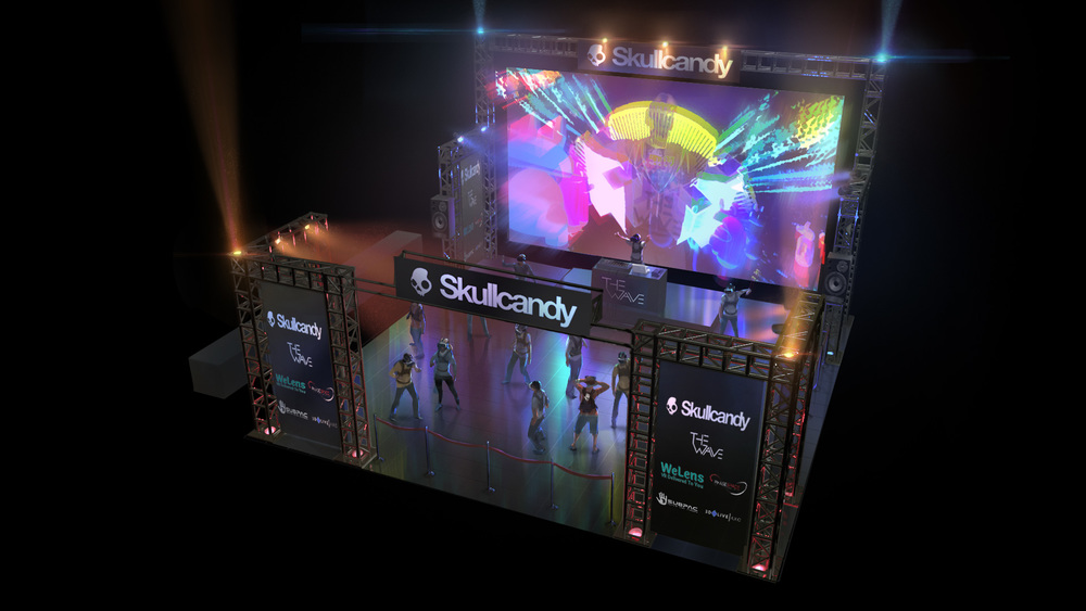 THE WORLD'S FIRST VR RAVE - PRESENTED BY SKULLCANDY, THE OFFICIAL AUDIO PARTNER OF VRLA