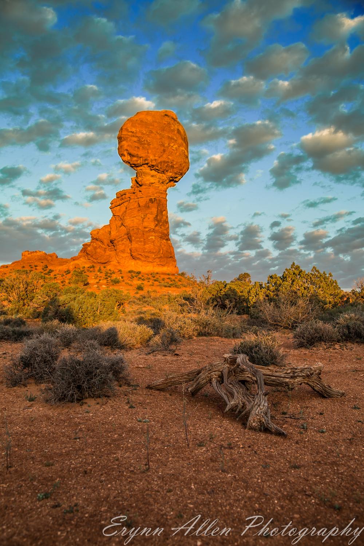 Balanced Rock at Sunrise