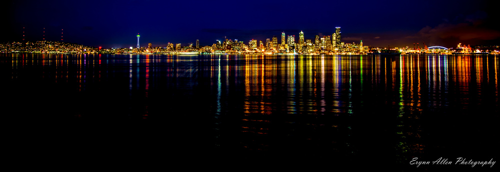 From left: Queen Anne, Space Needle, Downtown and Stadiums