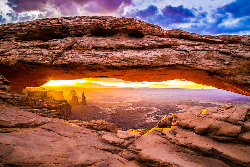 Mesa Arch, THE classic photography spot in Canyonlands National Park