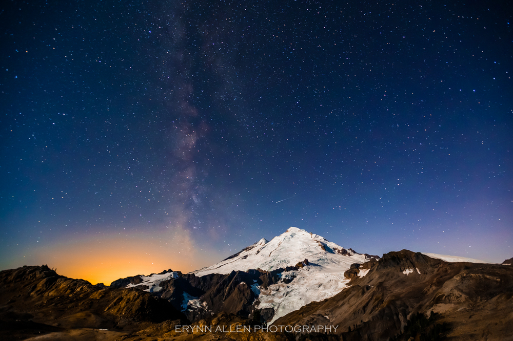 Probably my favorite image of the year. I've climbed the mountain twice, and to catch a shooting star (not satellite or airplane) over it was incredibly fortuitous.