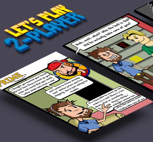 LP2P Web Comic