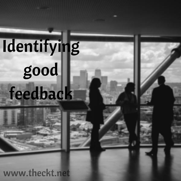 good feedback the cocoknot theori