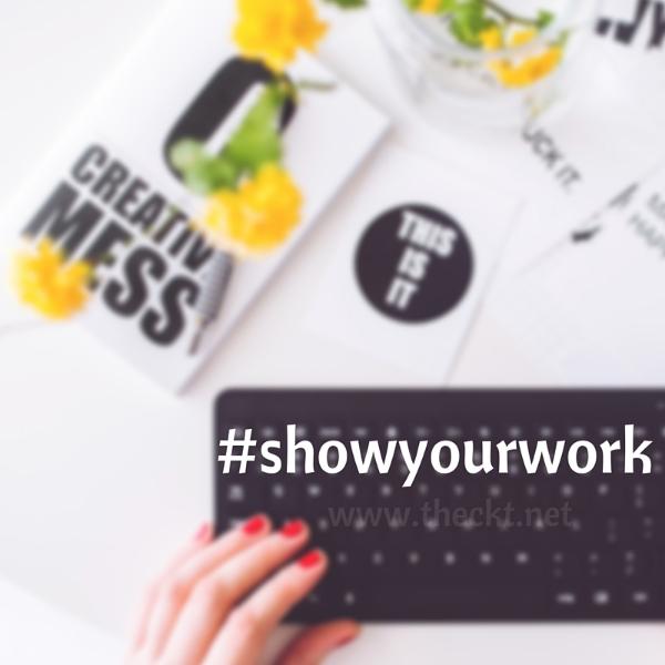 #showyourwork the cocoknot theori