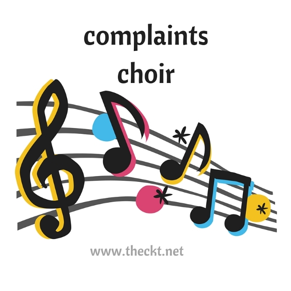 complaints choir the cocoknot theori