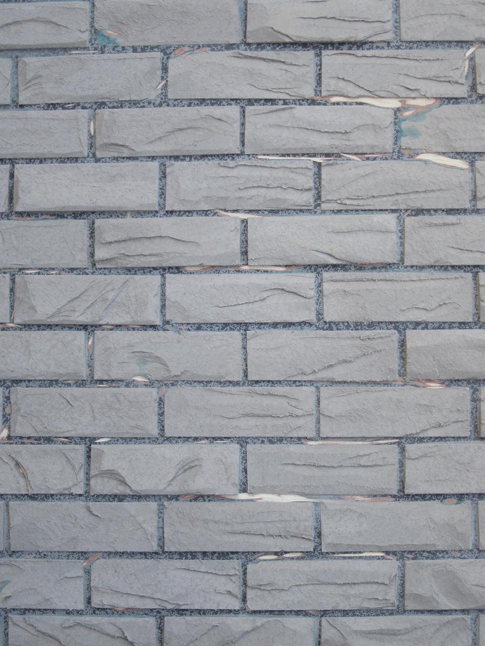 Brick Homasote Carved
