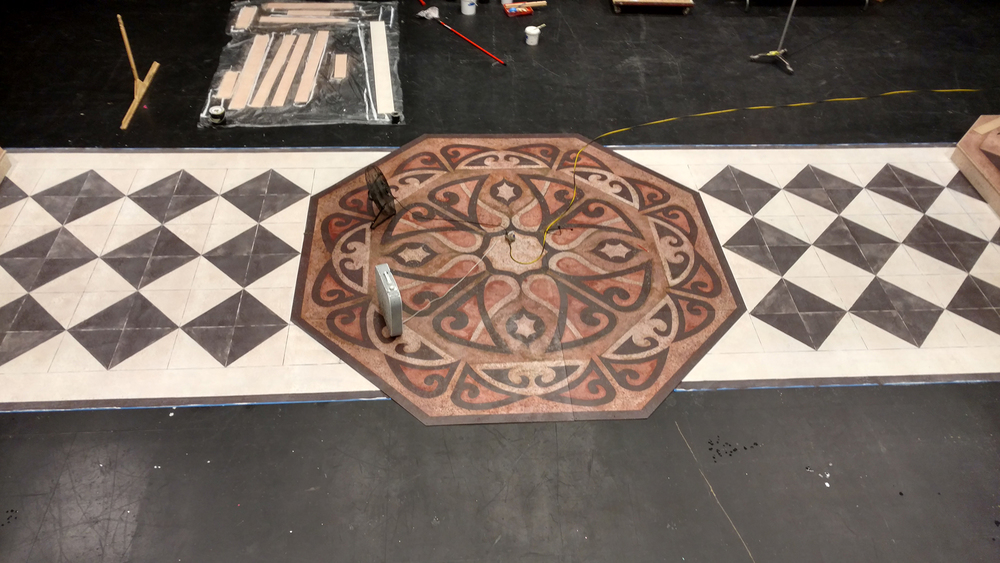 Floor in Progress at Space