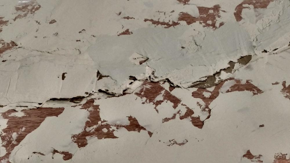 Plaster Walls Jaxson with Cardboard Closer Look