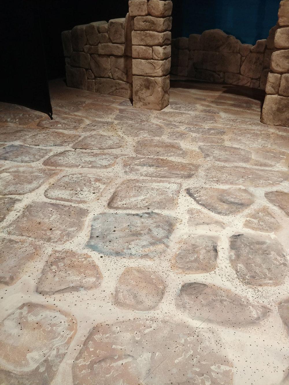 Floor Stones Detail