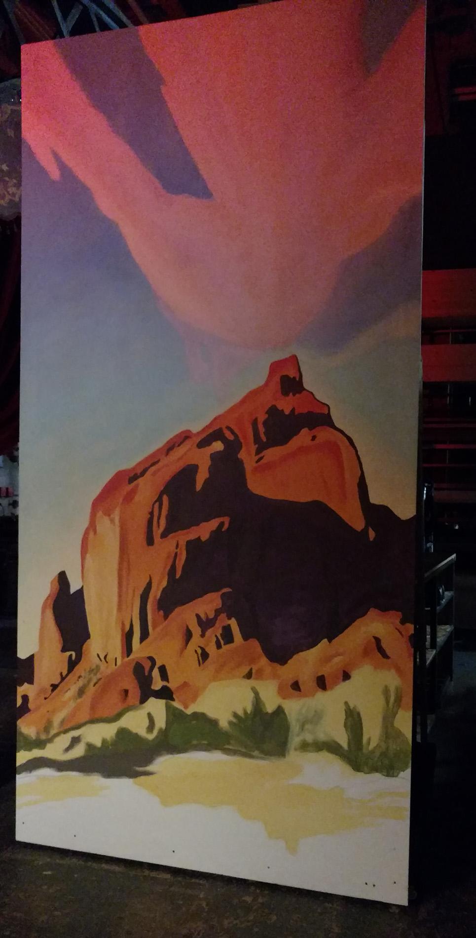 Santa Fe Painting Finished