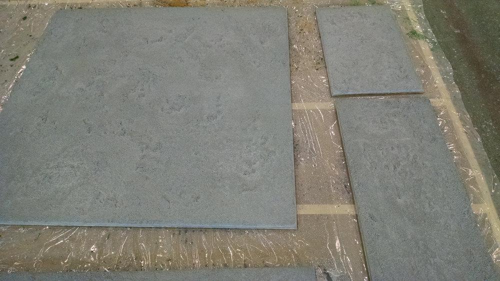 Mountaintop Floor: Textured with Dryvit