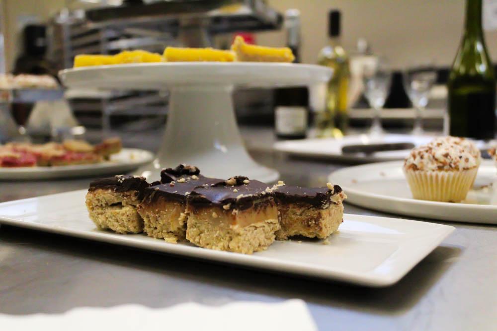 Millionare Bars: Shortbread crust, dulce de leche and 72% dark chocolate