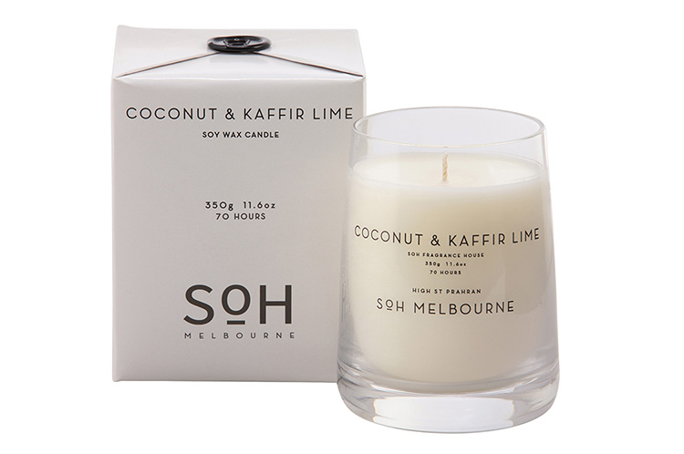 COCONUT & KAFFIR LIME CANDLE // $49