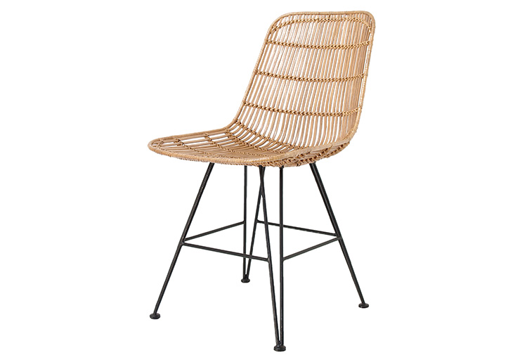 RATTAN DINING CHAIR NATURAL // $329
