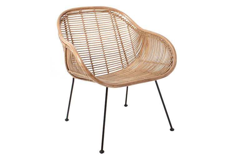 RATTAN ARM CHAIR // $549